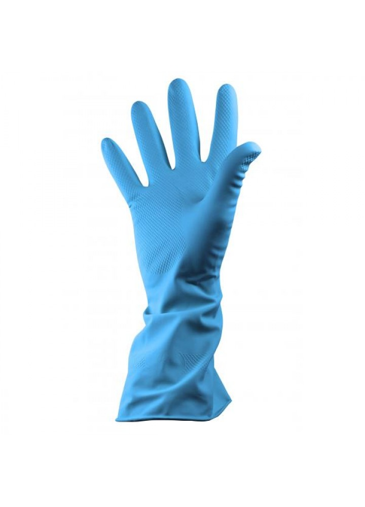Household Gloves Blue