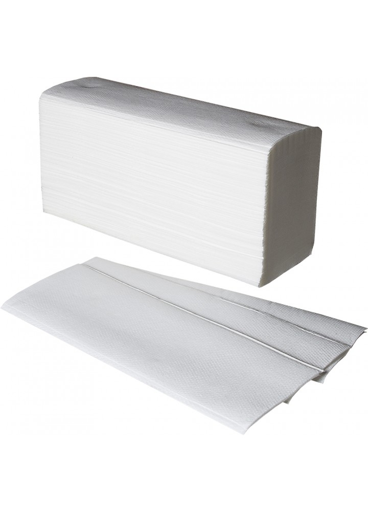 'V' Fold 2 Ply 'Firona' Hand Towels (250 x 230mm)