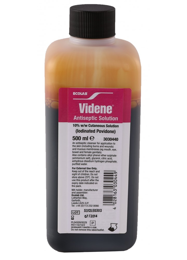 (P) VIDENE ANTISEPTIC SOLUTION