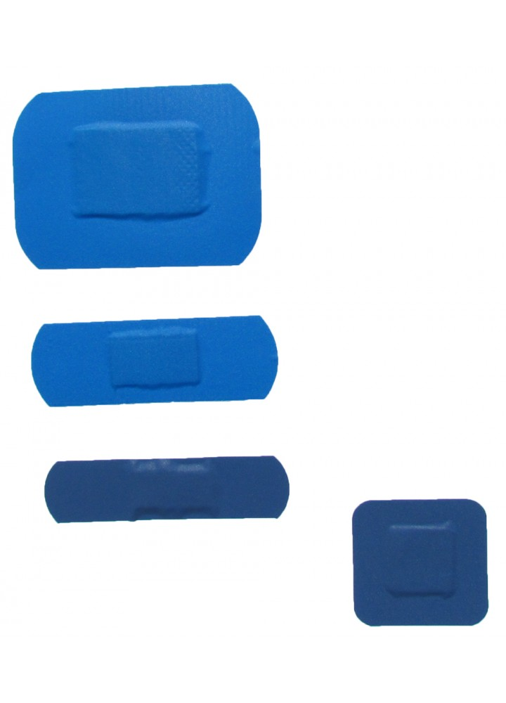 Washproof Blue Assorted Plasters
