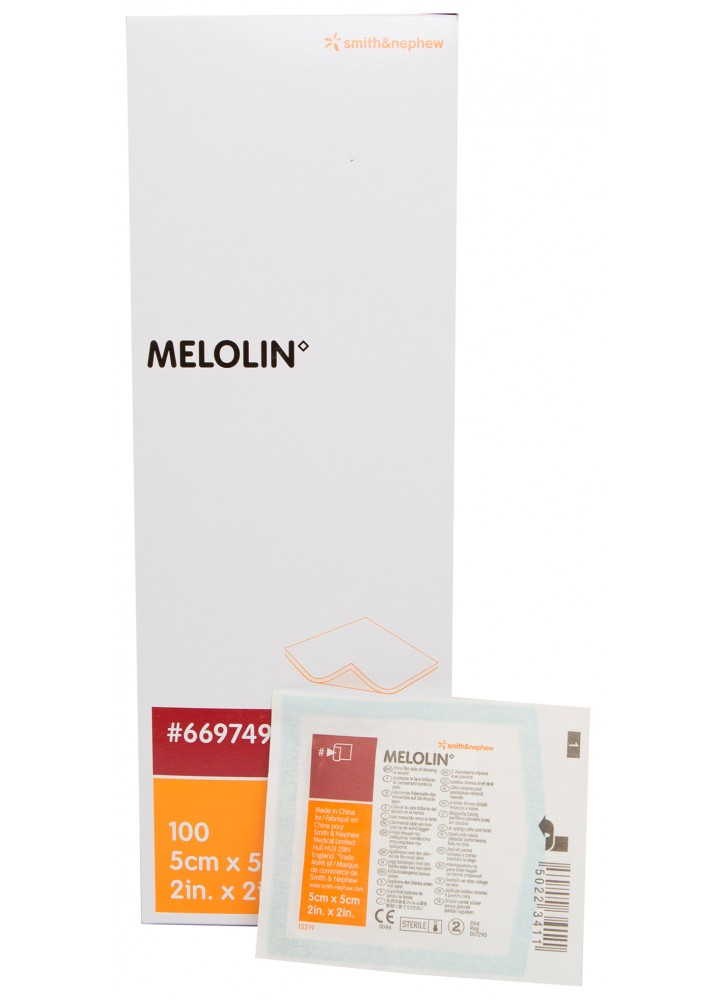 Melolin Low-Adherent Sterile Dressing 5cm x 5cm