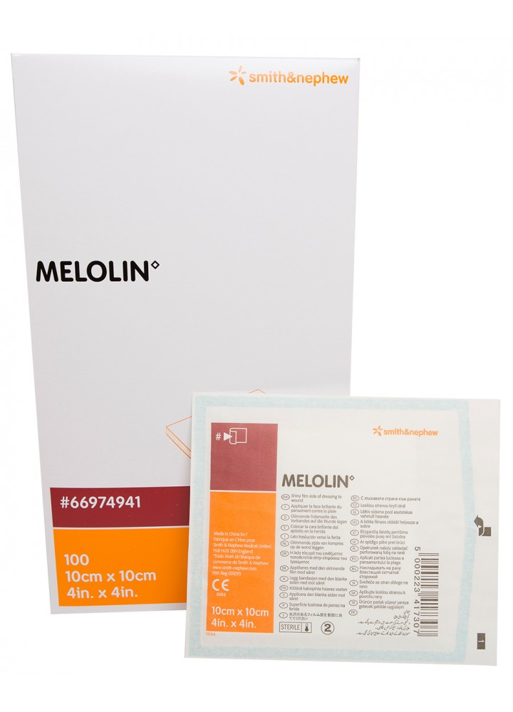 Melolin Low-Adherent Sterile Dressing 10cm x 10cm