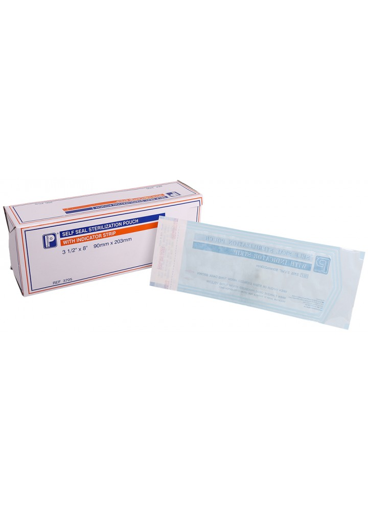 Premier Clearview Sterilisation Pouches 90 x 203mm
