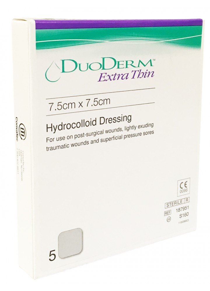 Duoderm Extra Thin Dressing 7.5 x 7.5cm