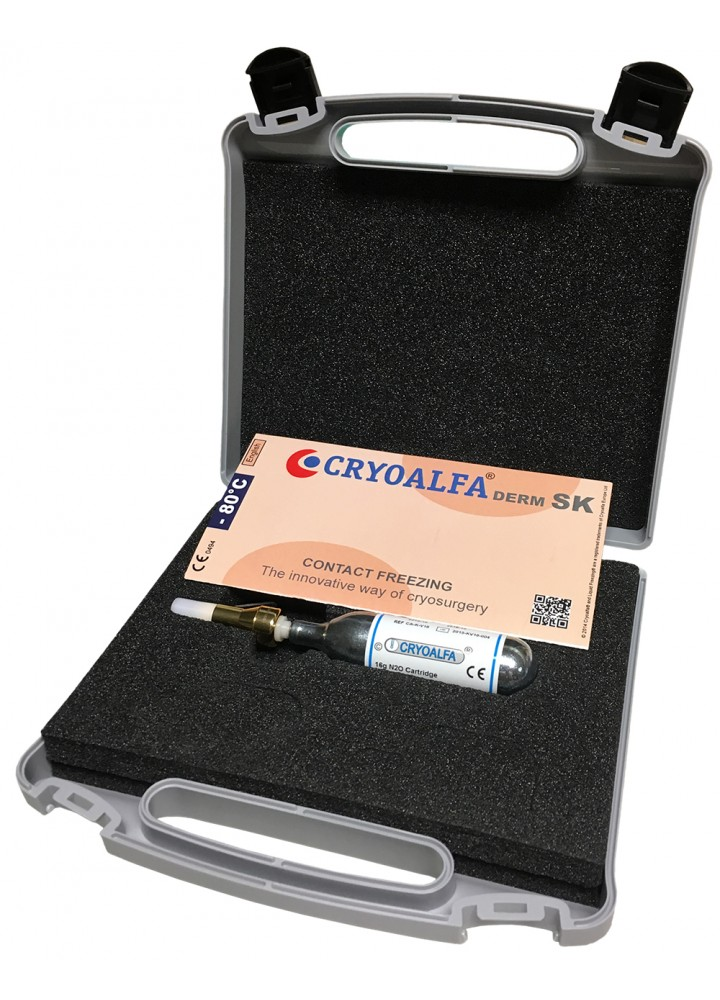 CRYOALFA SUPER KIT WITH 1 CARTRIGE