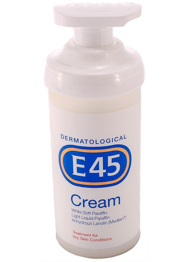 E45 Dermatolgical Moisturising Cream Pump 500g