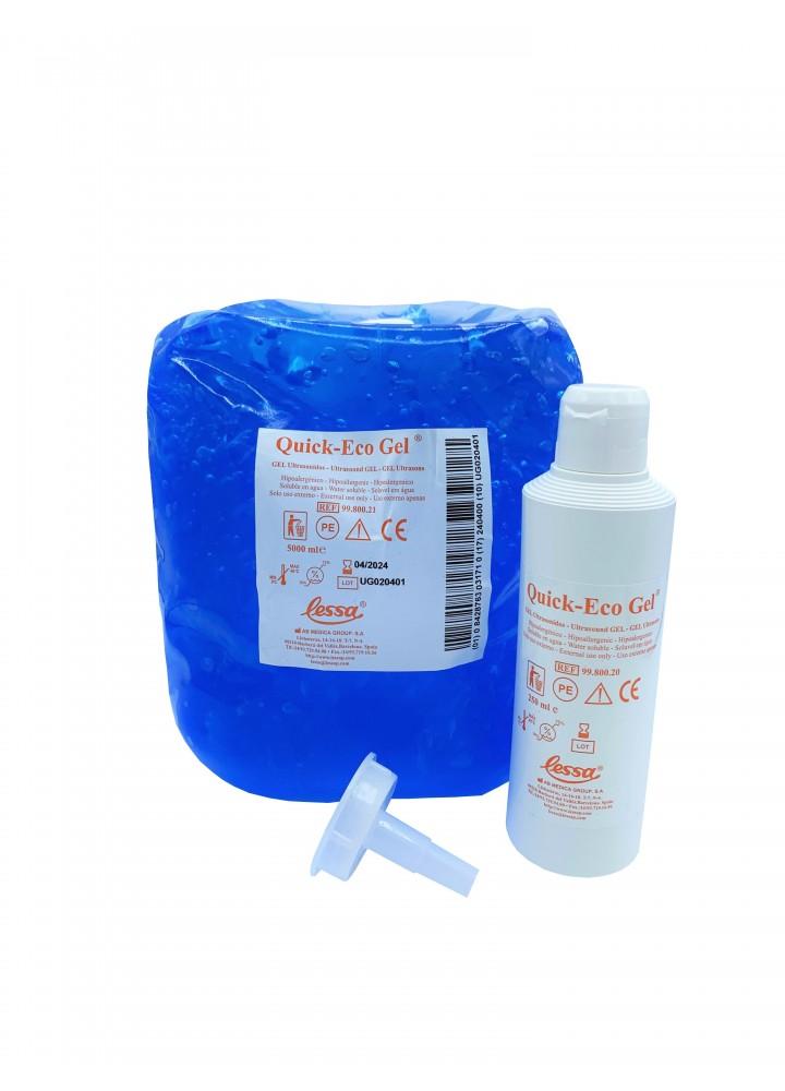 Blue Ultrasound Quick Eco Gel (5L)