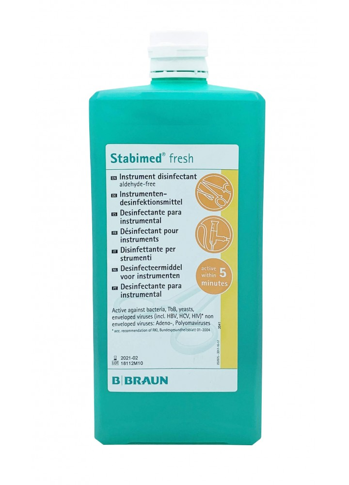 B/Braun Stabimed Fresh Instrument Disinfectant 1000ml
