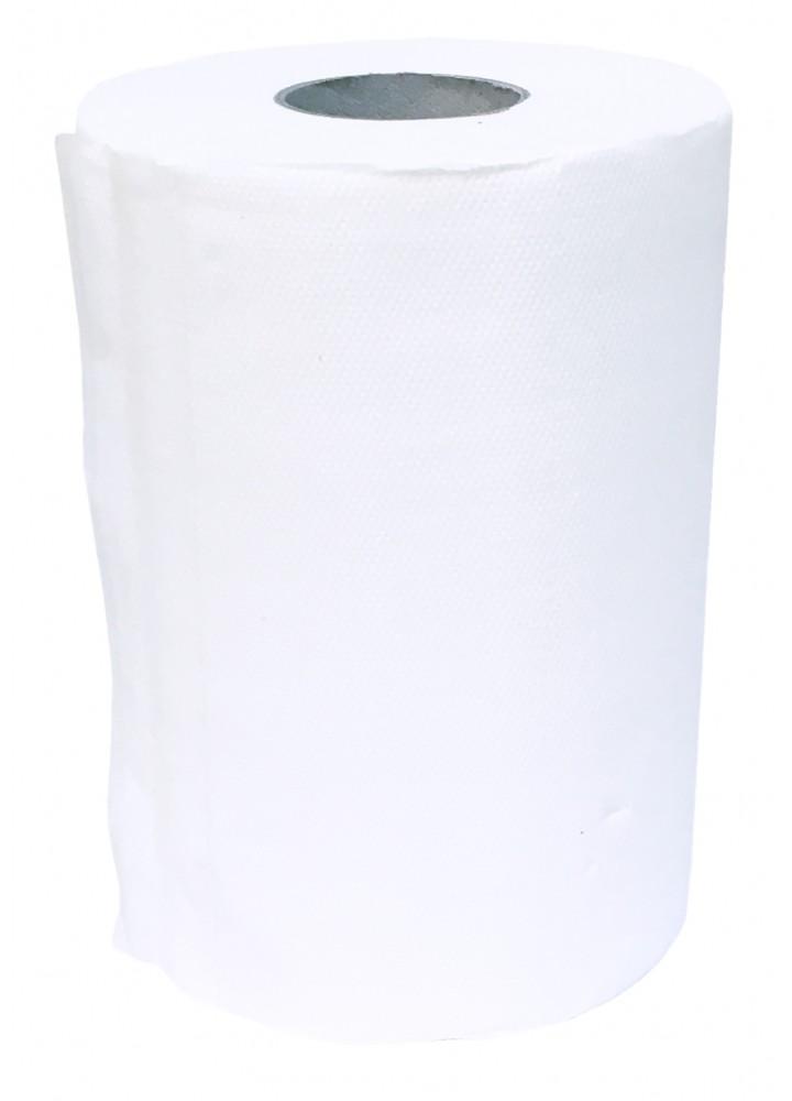 Delta 2 Ply White Standard Centre Feed Rolls