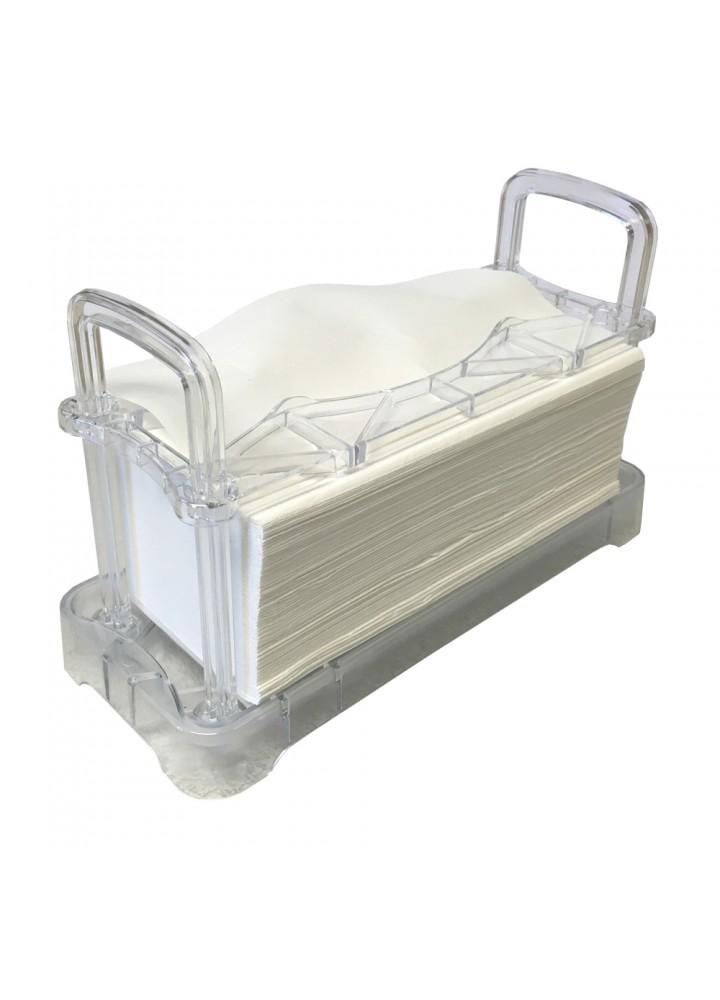Desk Top Paper Towel Dispenser (Clear)