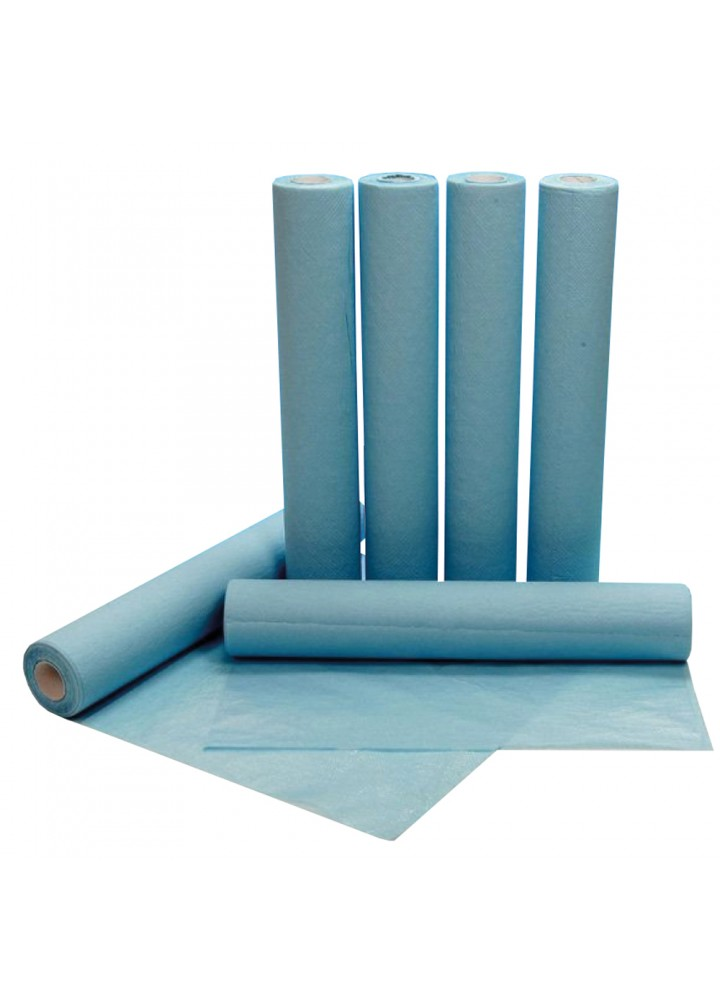 "Laminated Blue 20"" Couch Roll Water-resistant"