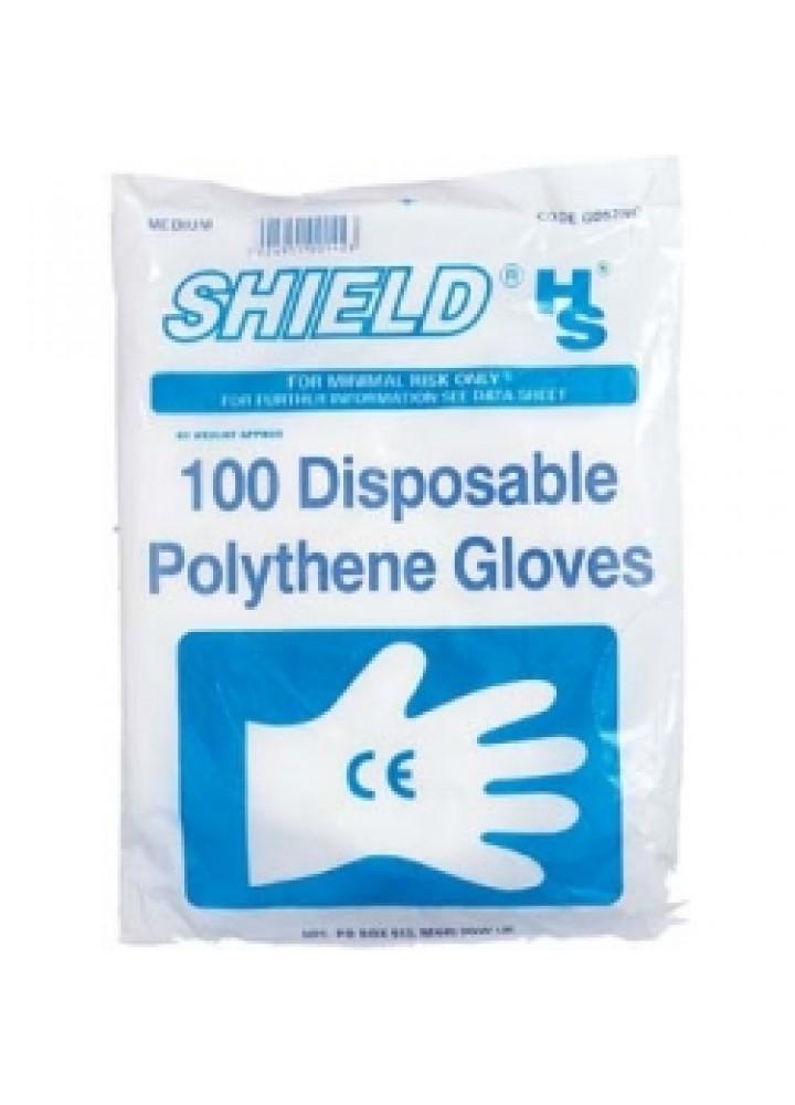 Polythene Budget Gloves Large