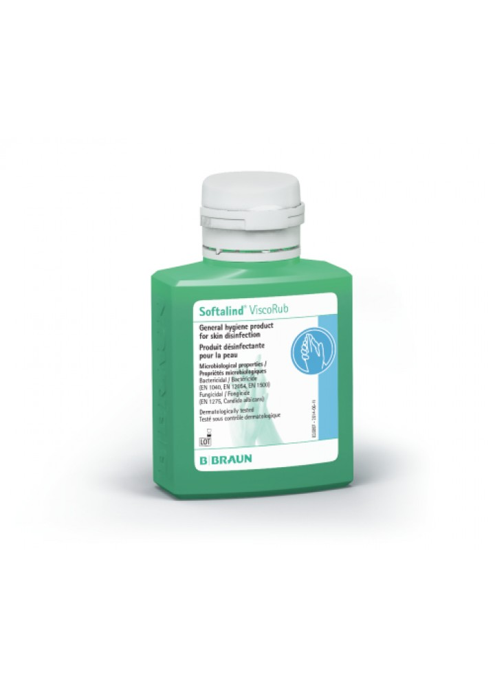 B/Braun Softalind Visco Rub Hand Sanitizer 100ml Single