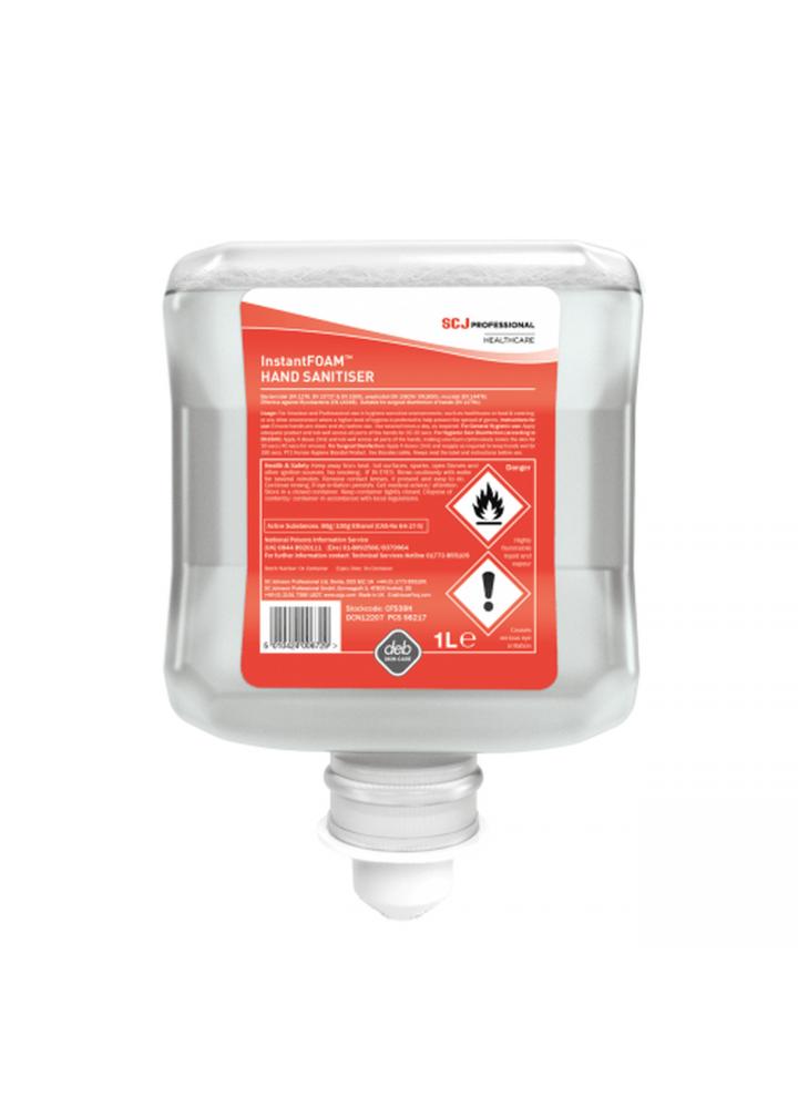 Deb InstantFoam Hand Sanitiser 1 Litre