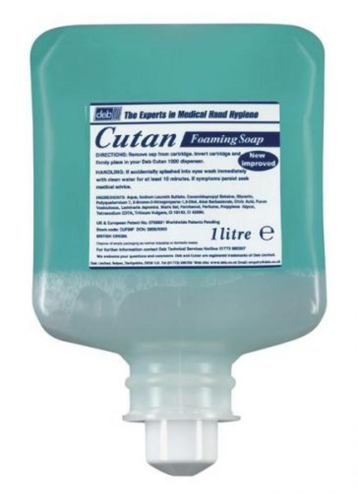 Cutan Deb Mild Foaming Soap 1L