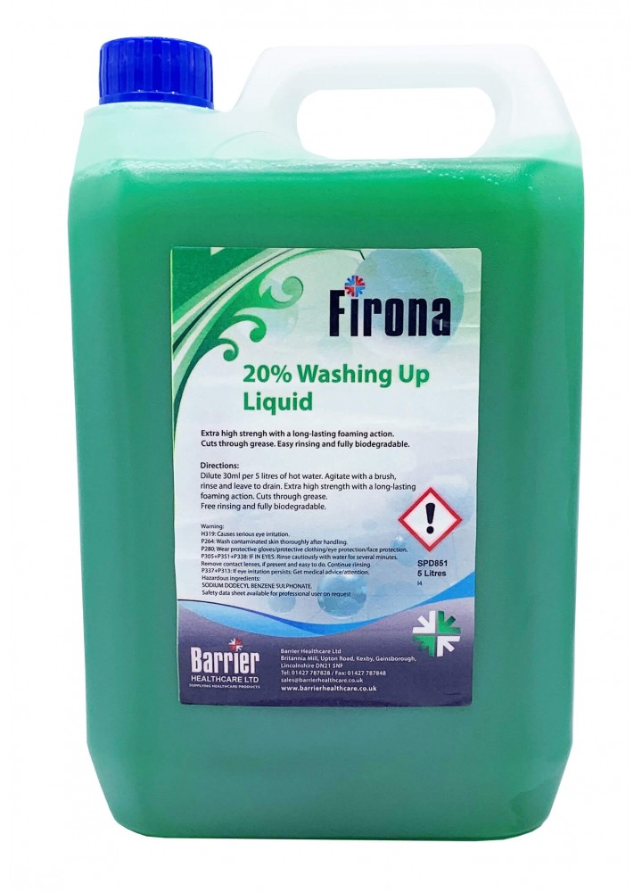 'Firona' Washing Up Liquid 20%