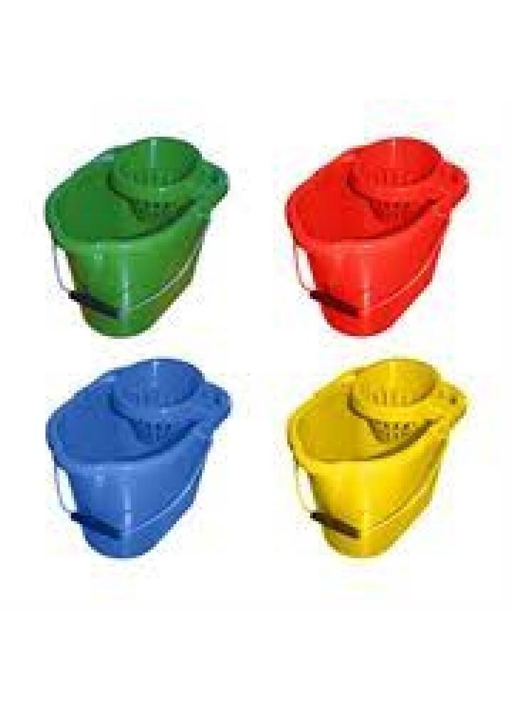 Plastic Mop Bucket Yellow