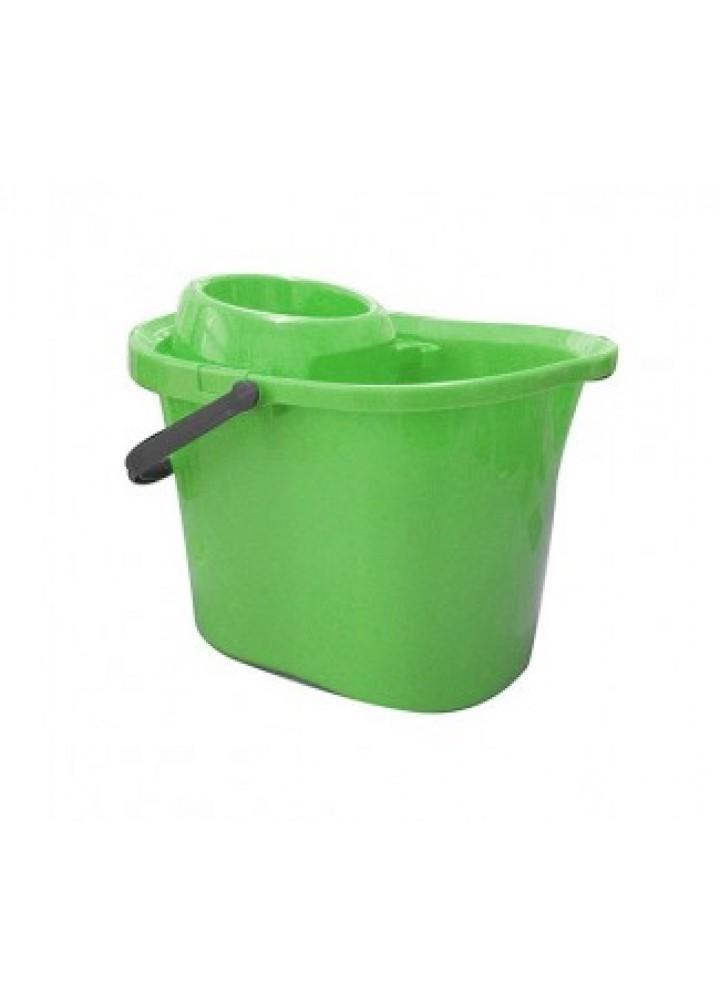 Plastic Mop Bucket Green