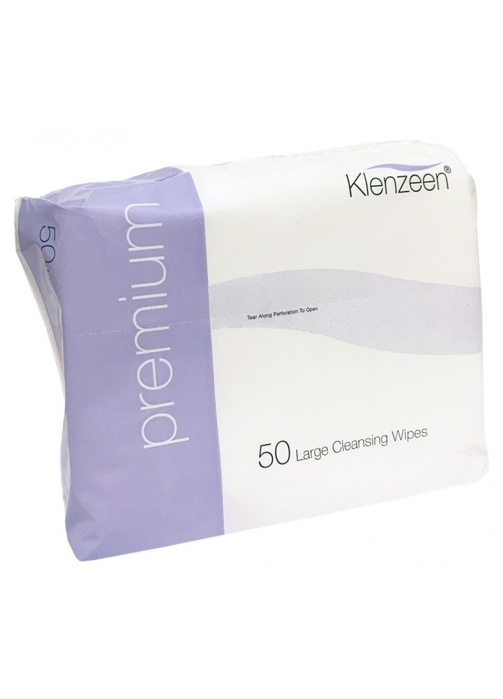 Premium White Cotton+ Dry Wipes
