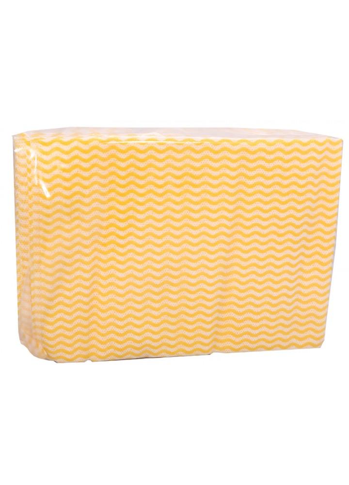 Super K Dry Utility Wipes Yellow 50 x 36cm