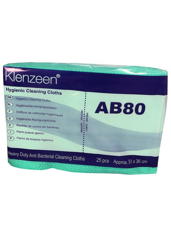 Heavy Duty AB80 Utility Wipes Green