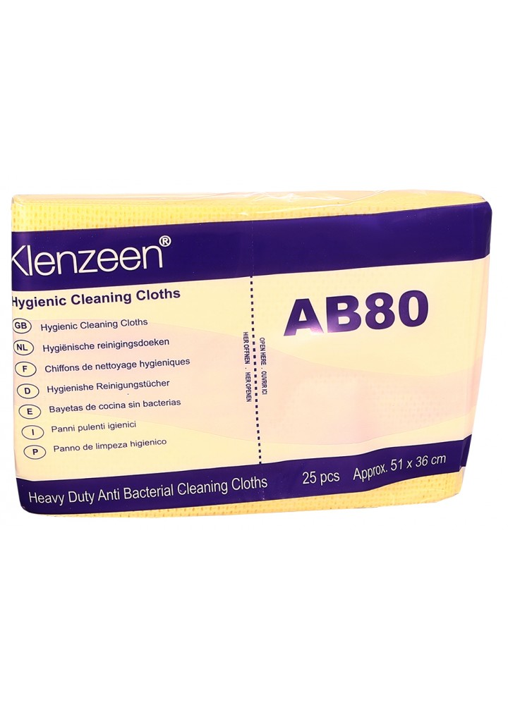 Heavy Duty AB80 Utility Wipe Yellow