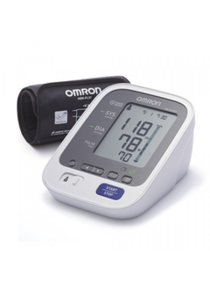 Omron AC Digital Blood Pressure Monitor with Power Adaptor