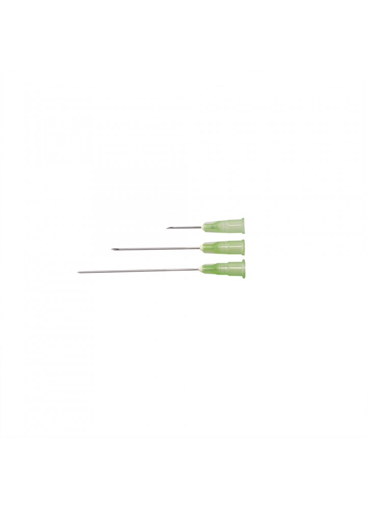"Terumo 21g x 5/8"" Needles Green"