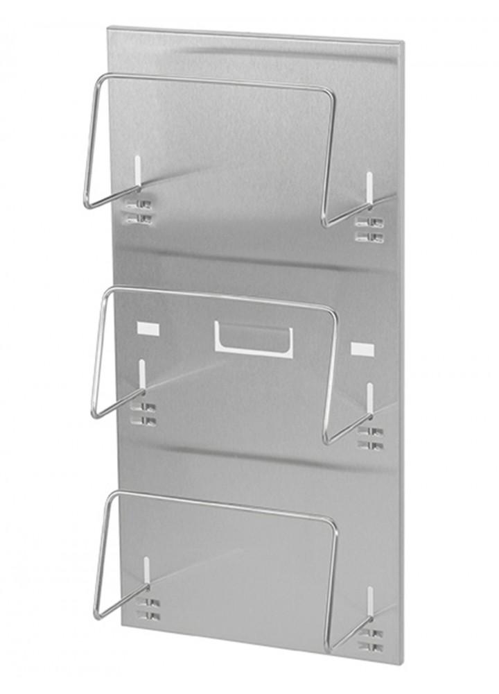 Ophardt  Stainless Steel 3 Glove Box Holder
