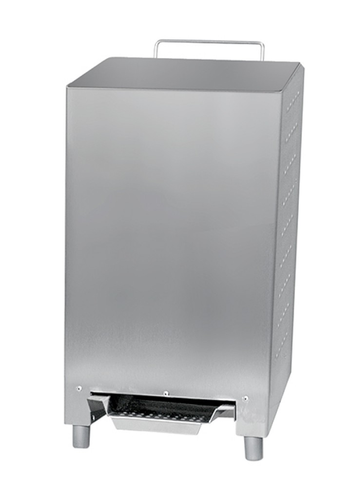 24 Litre Ophardt Stainless Steel Foot Operated Waste Bin