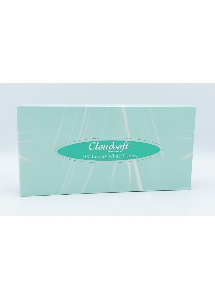 Whisper Luxi Facial Tissues 2 Ply White