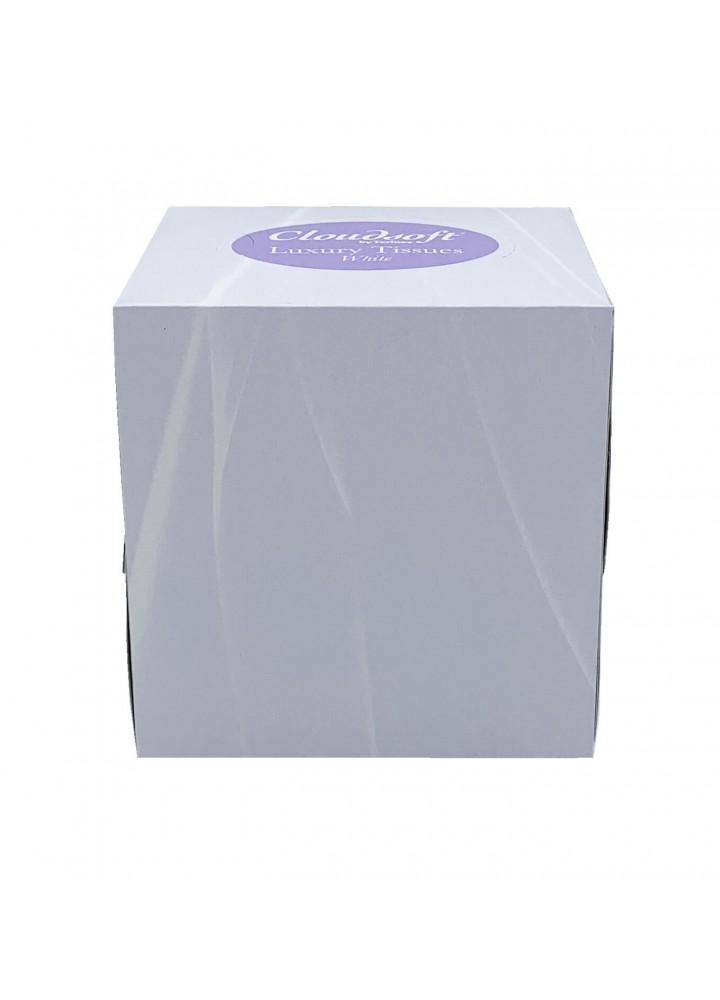 Facial Tissues Cube Box