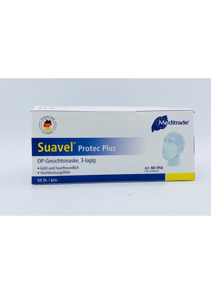 Surgical Type II Suavel Protec Plus Loop Face Mask