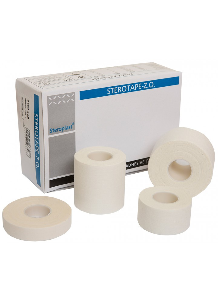 Sterotape Zinc Oxide Tape 1.25cm x 10 Meters