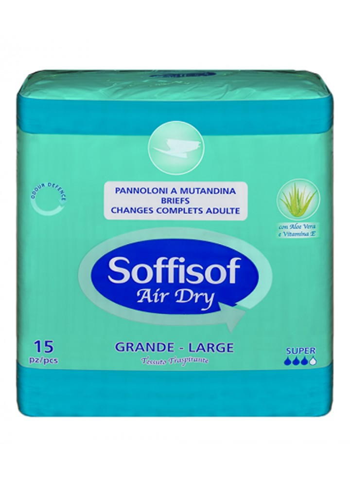 Soffisof Breathable All in One Large Extra