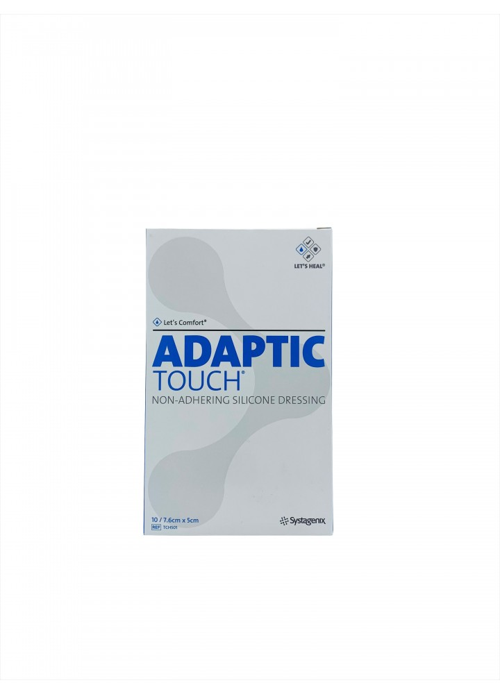 Adaptic Touch Non-Adhering Silicone Dressing 5 x 7.6cm