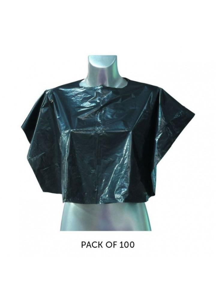 Shoulder Cape Black Disposable
