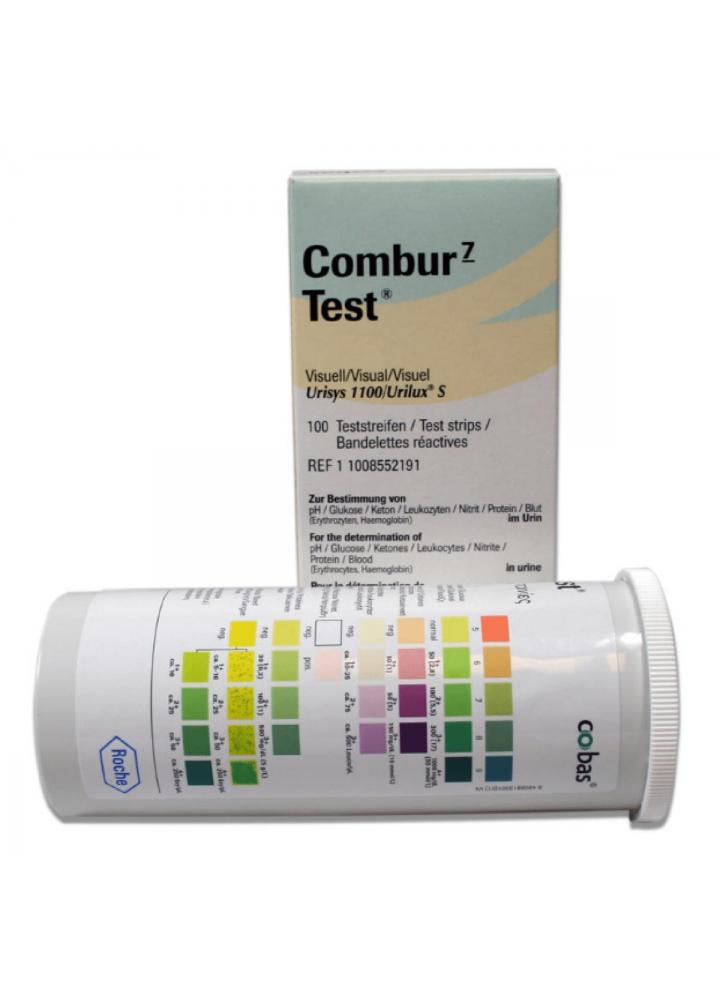 Roche Combur 7 Urinalysis Strips