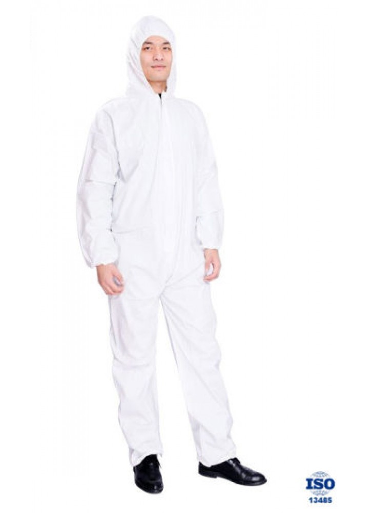 Gown Protective Suit Med. (All in One)
