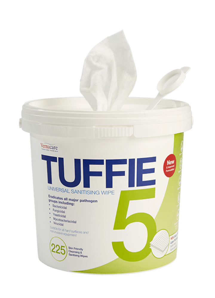 Tuffie 5 Disinfectant Wipes